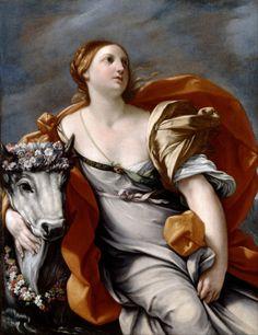 Guido Reni, Europa and the Bull, ca. 1620-40