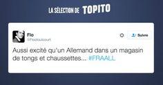 Top 10 des tweets sur France-Allemagne le jour de gloire est arrivé
