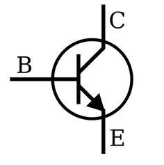 W tranzystorach bipolarnych prąd przepływa przez złącza półprzewodnika o różnym typie przewodnictwa (n i p). Zbudowany jest z trzech warstw półprzewodnika o typie przewodnictwa odpowiednio npn lub pnp (o nazwach emiter - E, baza - B i kolektor - C). Charakteryzuje się tym, że niewielki prąd płynący pomiędzy dwiema jego elektrodami (bazą i emiterem) steruje większym prądem płynącym między innymi elektrodami (kolektorem i emiterem).