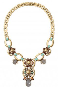 Add a season trending hint of mint to your wardrobe with the Stella & Dot Livvy Necklace www.stelladot.com/kayec