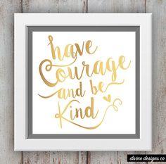 Tener valor y ser tipo inspiracional para por DivineDesignsCo