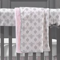 Bella Damask Baby Blanket