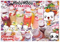 MOGU MOGU Fruits Drinks! Subito disponibili in 10 gusti diversi!! Per info e per acquistarli clicca qui--> https://www.facebook.com/otakingshopitalia/photos/a.647169645413188.1073741836.643117879151698/721526174644201/?type=3&theater Consegna gratuita a mano su ROMA o spedizione tracciata con arrivo in 3 giorni!