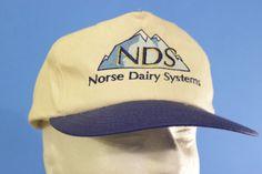 Norse Dairy Systems White Blue Baseball Cap Snapback Hat Adjustable One Size #TC #BaseballCap