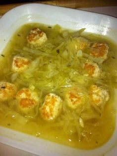 HCG Phase 2 - Chicken Ball and Cabbage Soup Recipe