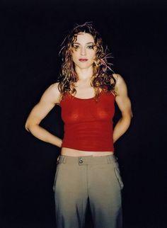 """Madonna photographed by John Rankin, 1998 """