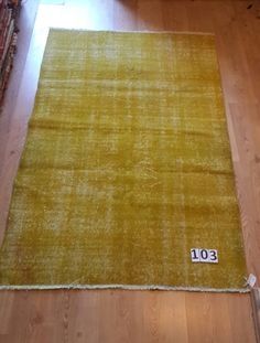 Taupe Color PATCHWORK Rug, Handmade from Overdyed Vintage Turkish Carpets, Neutral washed out colors on Etsy, $260.00