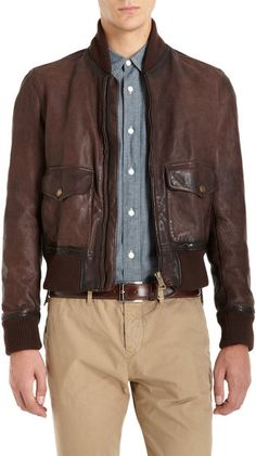 466e9e61a202 Brown Inglaise Bomber Jacket - Burberry Brit Burberry Brit Jacket