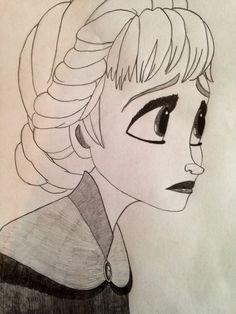 Elsa Frozen by Sarah Steidle