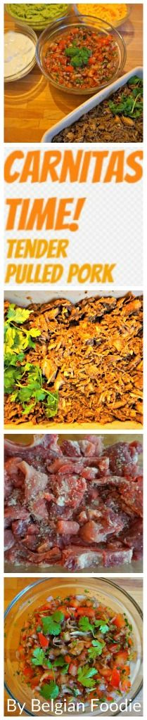 Tender juicy pulled pork Carnitas style can easily become a way of life.....