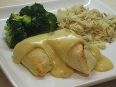 Easy Chicken Pillows Recipe! #dinner #recipes