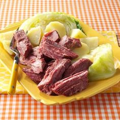 Sunday's Corned Beef