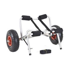 $48.93  ** Check this awesome product by going to the link at the image. (This is an affiliate link) Canoe Carrier, Trolley Dolly, Stainless Steel Fasteners, Sand And Gravel, Inflatable Boat, Canoe And Kayak, Camping World, Rubber Tires, 5 D