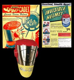 Space Cadet 'Invisible Helmet'