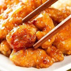 Un délicieux plat chinois de poulet frit à l'orange, très simple à faire. Ingrédients : 500 g de coffres de poulet - ...