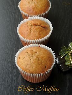 Coffee Muffins (Substitute: Bob's Red Mill All-Purpose GF Baking Flour)