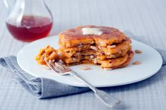NYT Cooking: Cornmeal Pancakes With Vanilla and Pine Nuts