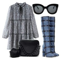 """""""Denim"""" by melady0202 on Polyvore featuring Tom Ford и CÉLINE"""