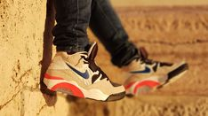 """Nike Air Force 180 """"Ultramarine"""" customized Nike Air Force, Sneakers, Shoes, Fashion, Tennis, Moda, Slippers, Zapatos, Shoes Outlet"""