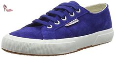 Superga 2750 Sueu, Sneakers basses mixte adulte - Blue (808 Blue Nautic), 38 EU - Chaussures superga (*Partner-Link)