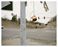 "Steven Ahlgren: intersection. Springfield, PA. From the serie ""Autocratic Landscapes""."