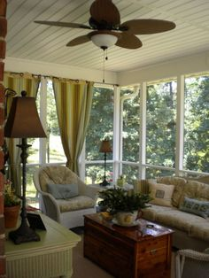 screened porch decorating ideas | Love my Screened Porch!, I had no idea that my screened porch could ...