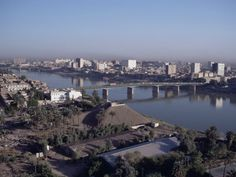 Tigris River, Baghdad, Iraq, Middle East Photographic Print by Guy Thouvenin at AllPosters.com