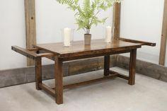 custom harvest table with extension leaf