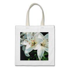 White Lilies Bag