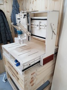 2017 NEW 3D 라우터 탄생 1호 ~ 이번 3D라우터 2탄... Router Lift, Diy Cnc Router, Wood Router, Router Table, Woodworking Jigs, Carpentry, Woodworking Projects, Wood Tools, Diy Tools