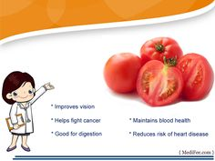#Tomatoes health benefits by #medifee