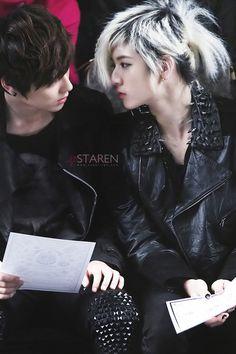 NU'EST MinRen (MinHyun & Ren)