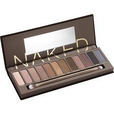 Urban Decay Naked eyeshadow palette (2,080 DOP) ❤ liked on Polyvore featuring beauty products, makeup, eye makeup, eyeshadow, beauty, cosmetics, eye shadow, fillers, urban decay and palette eyeshadow