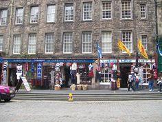 On Royal Mile, Edinburgh Scotland