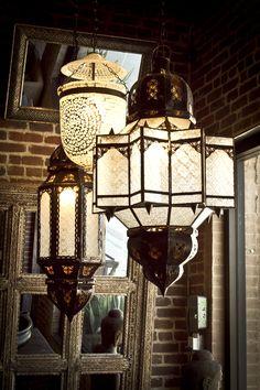 lampes style marocain