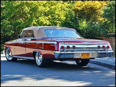 62 Chevy SS Impala...my newest baby coming from West Coast to East soon