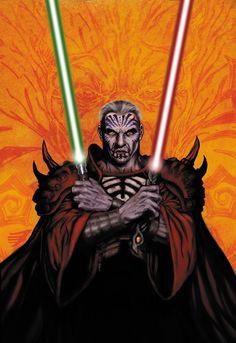 Darth Krayt, Cover art, Star Wars Legacy: War, Part 1, Jan Duursema