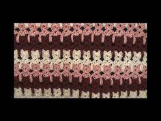 Left Hand Crochet Abstract Cats