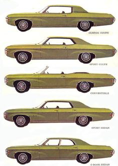 The 1969 Impala body styles cool to know