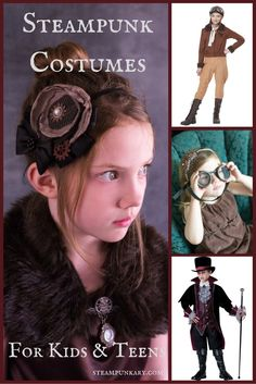 Steampunk Child and Teen Costumes More
