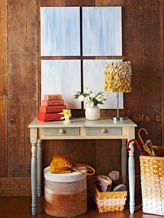 Give furniture a subtle lift with color washing! Get the how-to here: http://www.bhg.com/decorating/paint/projects/paint-projects-ideas-and-patterns/?socsrc=bhgpin030615colorwashing&page=20