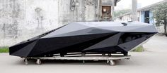Low resolution Lamborghini Countach, by United Nude