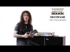 (5) DV Mark Multiamp Midi Pedalboard - YouTube