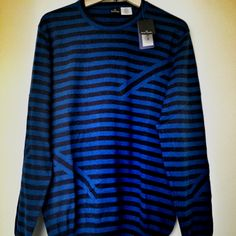 Paul Smith Striped Knitted Cotton Sweater