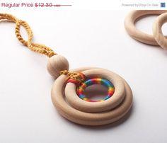 Organic Nursing Necklace/  ECO-Friendly Baby Teething di TOP1234