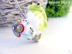 Angiebeads Lampwork - handgefertigte Glasperlen, handmade Lampwork beads,