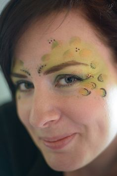 Dinosaur makeup | Flickr - Photo Sharing!
