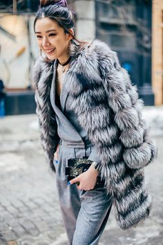 Street Style From Fashion Week, Day Four: Amazing Coats | Racked NY