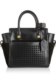 Reed Krakoff Atlantique Bionic Mini leather tote  | NET-A-PORTER.  I have the first generation Boxer Large and it is too heavy but I still love it.  This bag is awesome and I love the perforated leather.