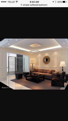 House Building, Ceilings, Lounge, Lighting Ideas, Lounges, Lounge Music,  Blankets, Building A House